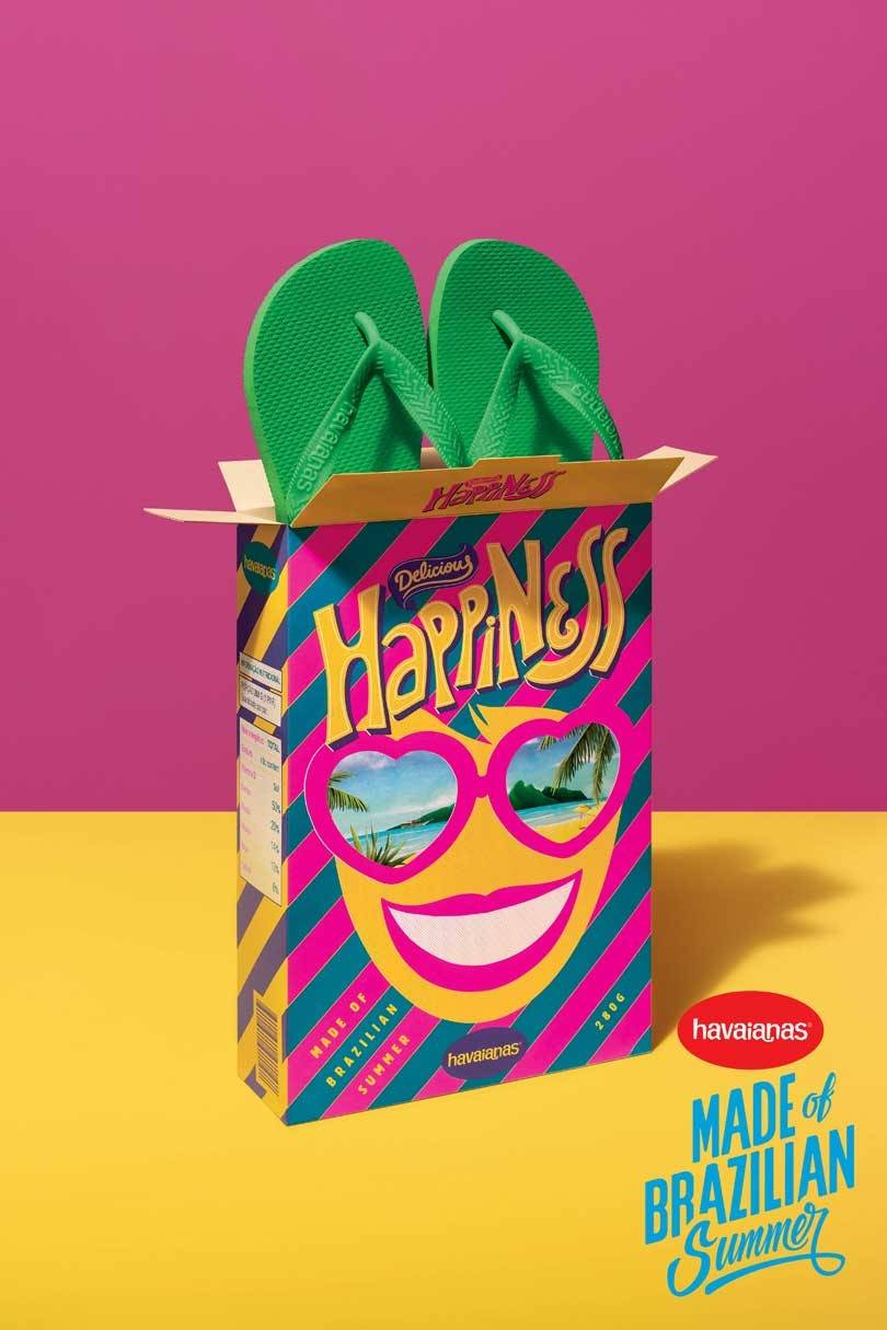 Havaianas: Dressing you from 'toe to head'