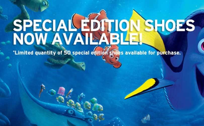 Biion debuts limited-edition Finding Dory shoes