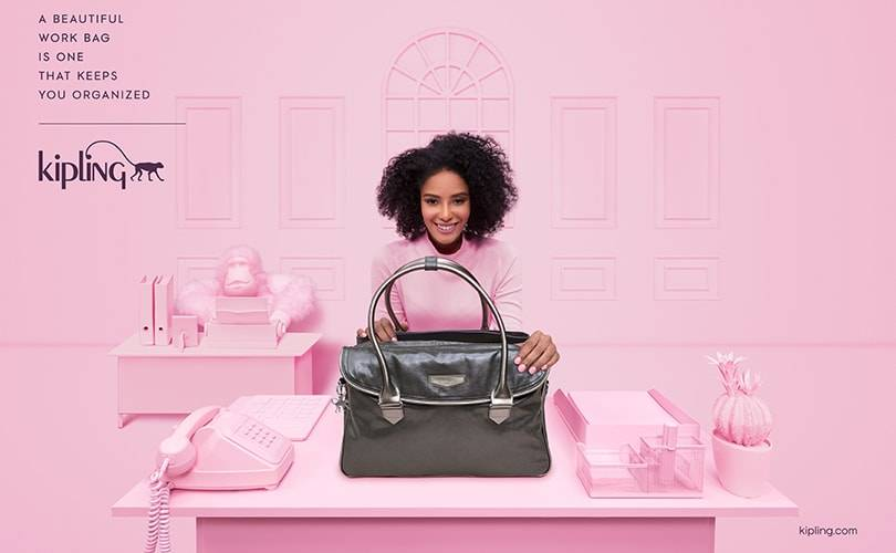 Kipling launches debut global campaign