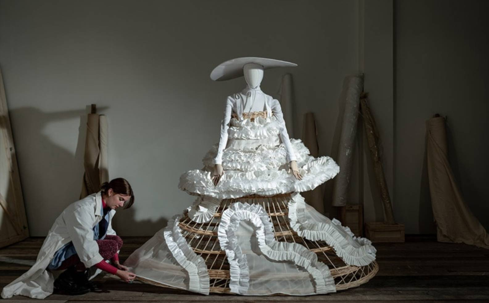 'In the making': an exhibition exploring fashion behind the windows of De Bijenkorf