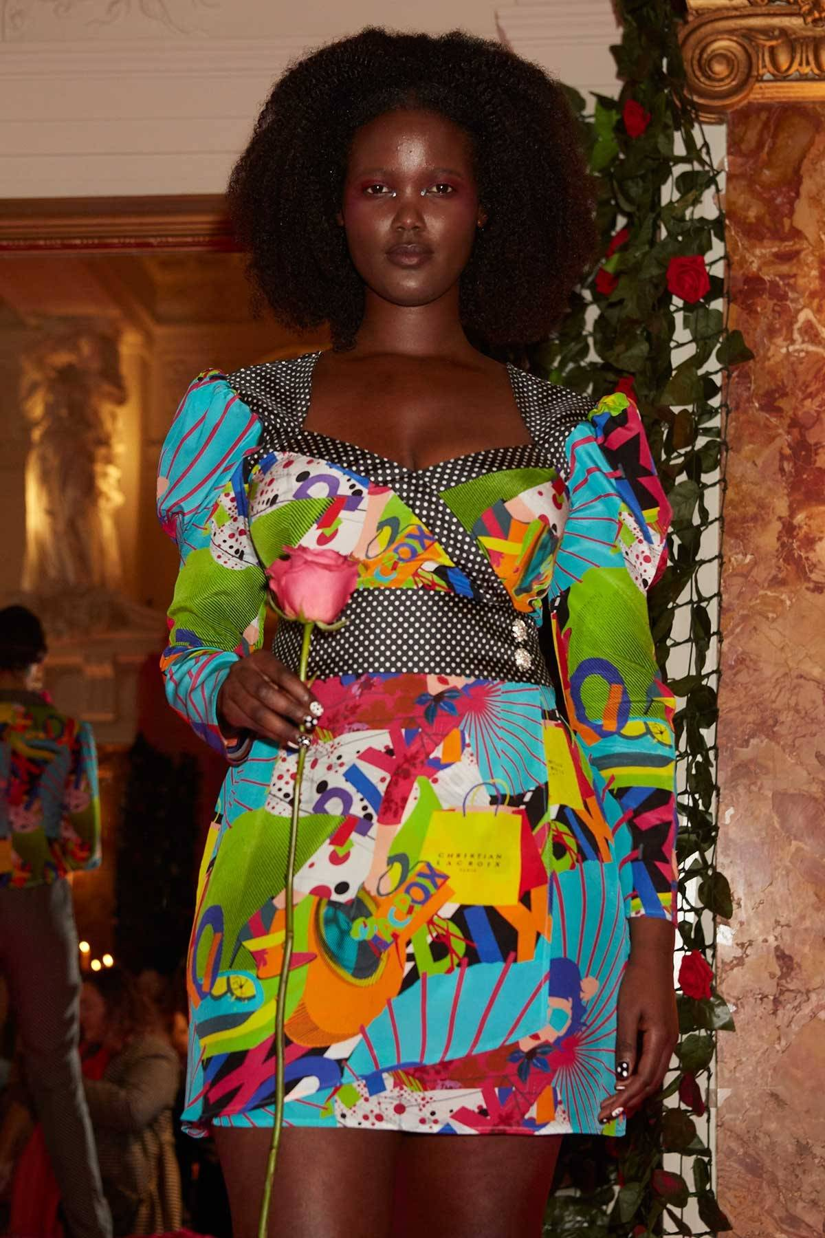 LFW AW20: Rixo collaborates with Christian Lacroix