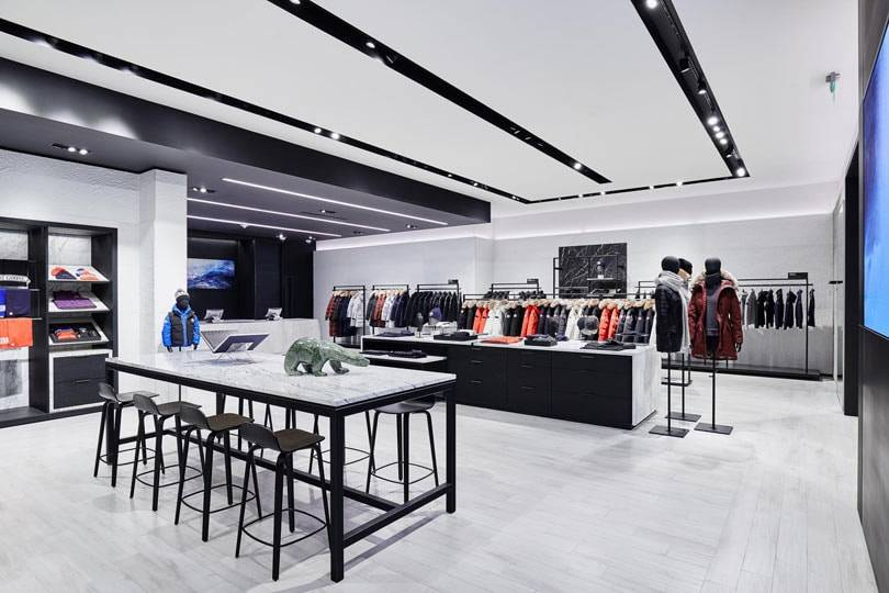 In pictures: Canada Goose to add cold rooms to its stores