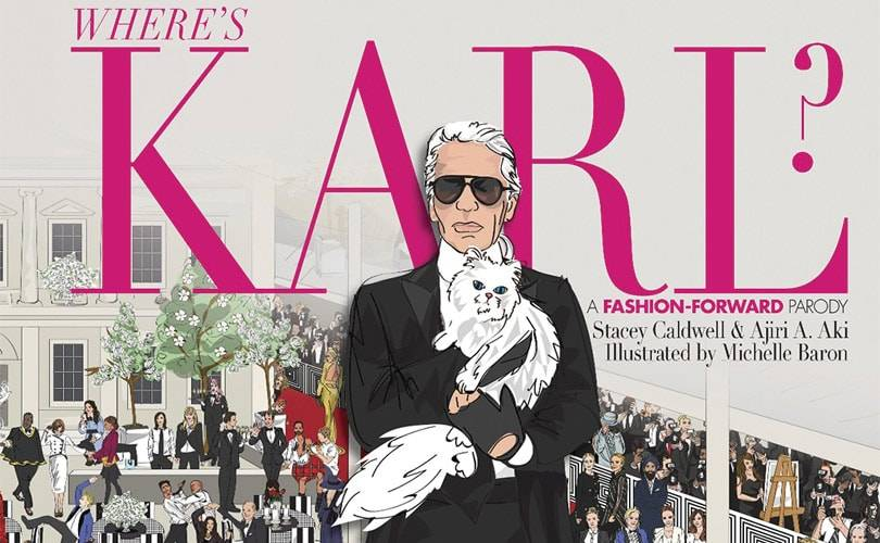 Fashion's twist on 'Where's Wally?': 'Where's Karl?'