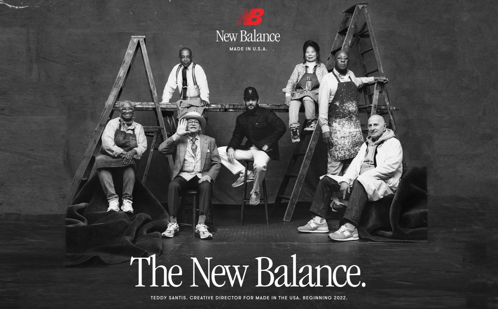 New Balance appoints Teddy Santis as creative director