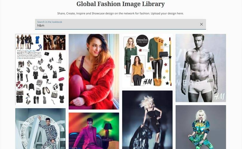 Global Fashion Image Library powered by artificial intelligence
