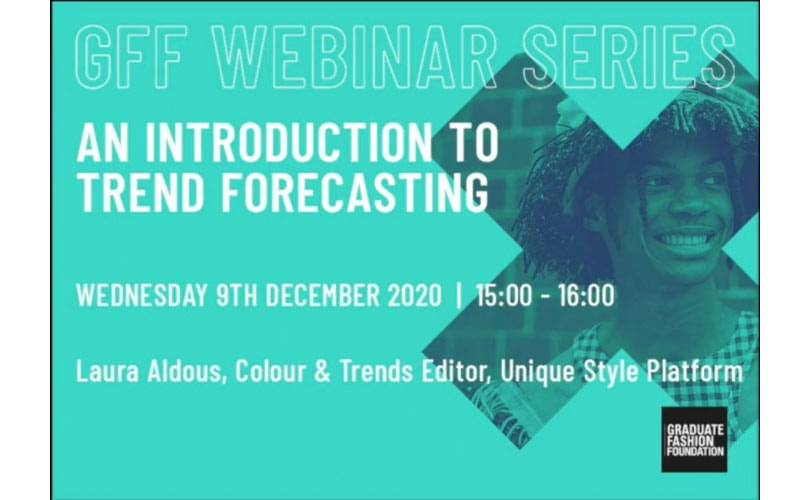 GFF Webinar: An Introduction to Trend Forecasting'