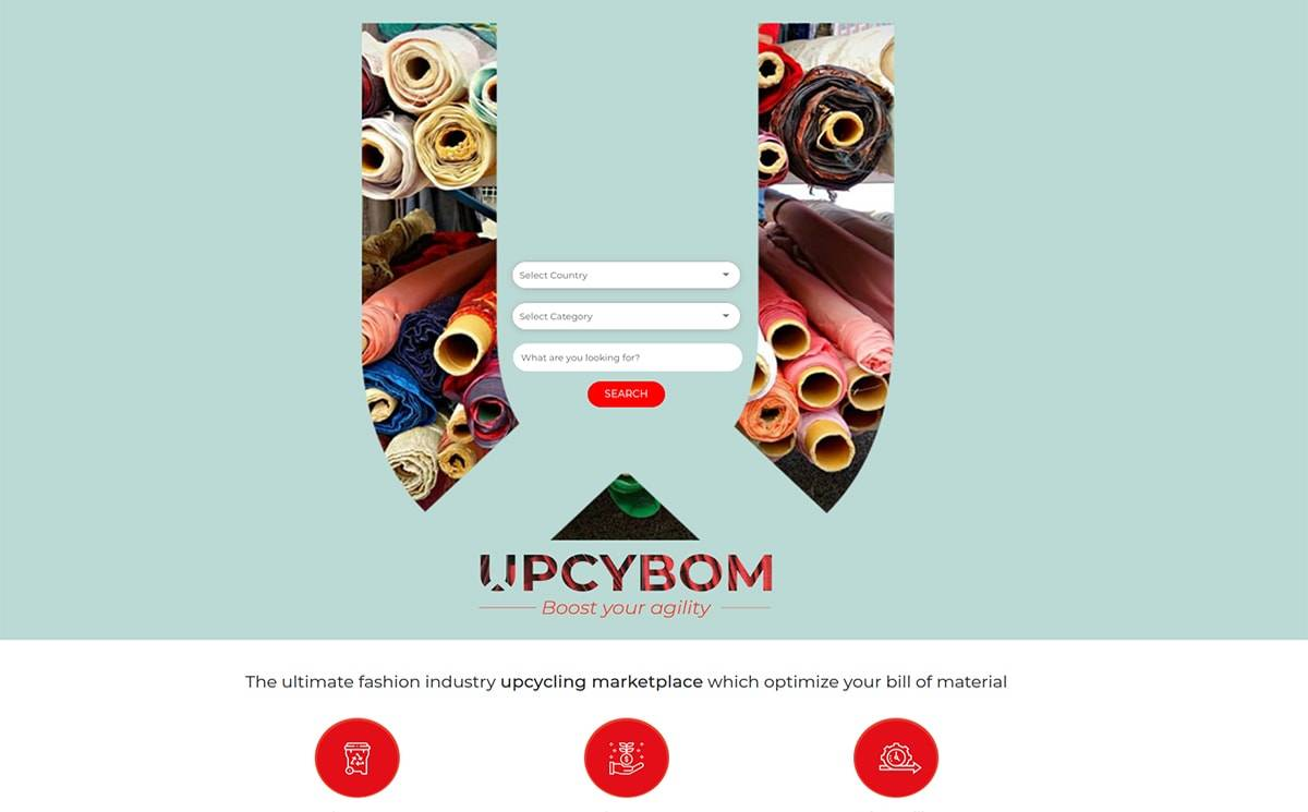 UPCYBOM, the marketplace that promotes your stock and boost your agility