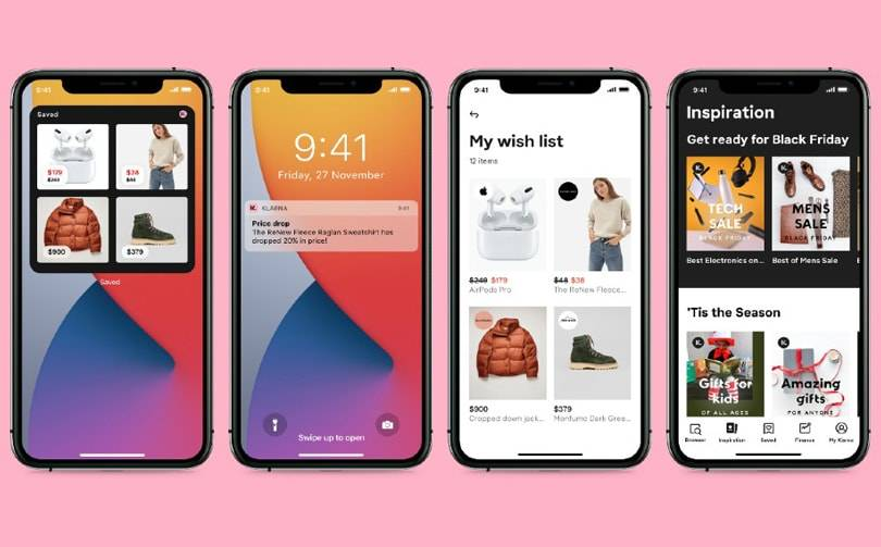 Klarna launches new price drop widget ahead of holiday season
