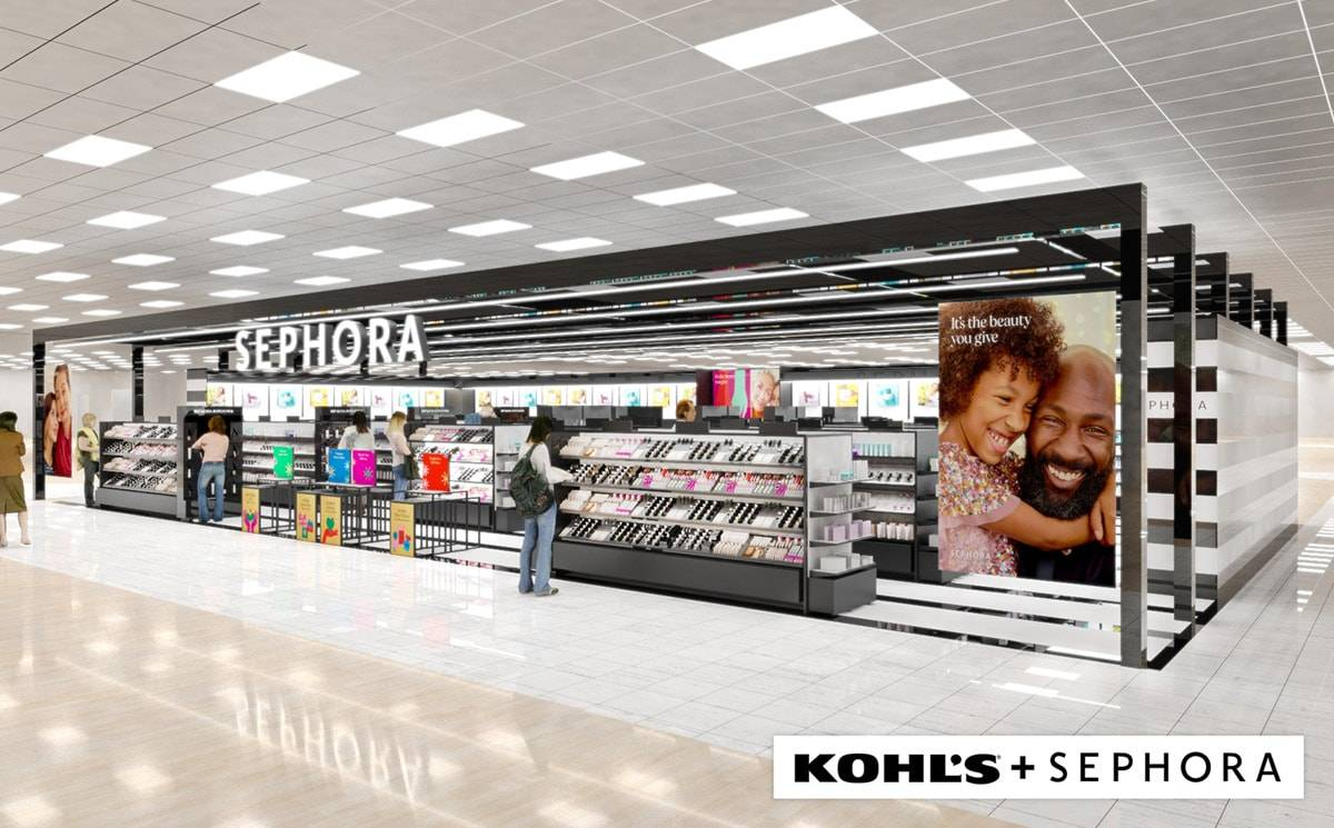 Kohl's and Sephora announce long-term retail partnership