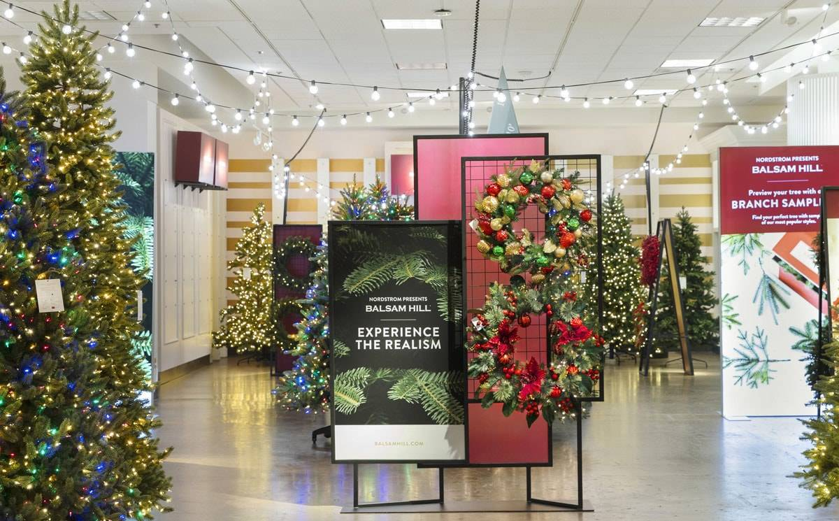 Nordstrom to sell Christmas trees in partnership with Balsam Hill