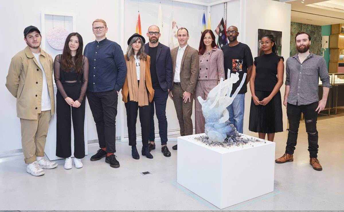 Tiffany & Co and Outset present Studiomakers Prize to MA Fine Art graduates
