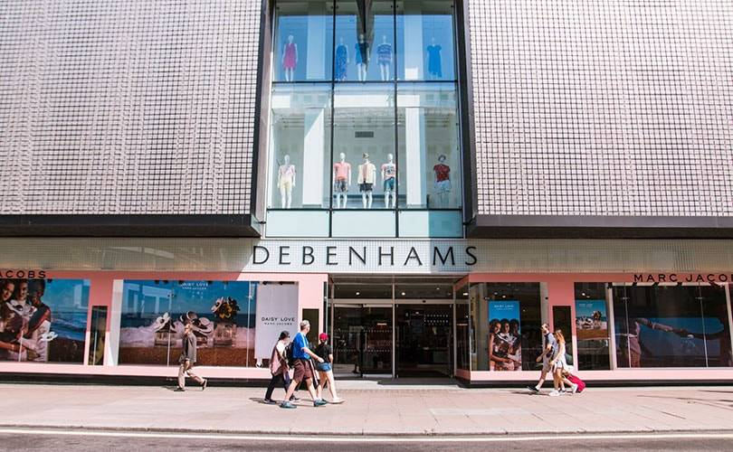 Debenhams secures 50 million pound funding ahead of busy Christmas period