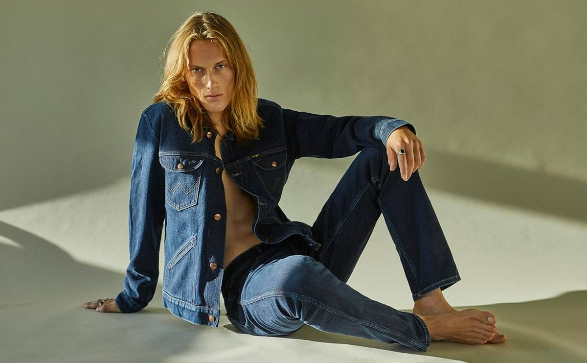 Wrangler launches first foam-dyed denim collection