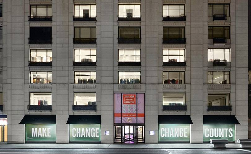 Barneys New York shrinking flagship