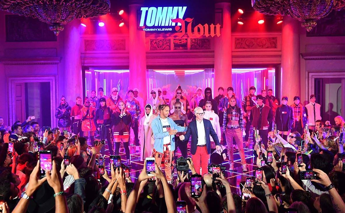 Tommy Hilfiger and Lewis Hamilton present Fall 2019 TOMMYXLEWIS collaborative collection in Milan