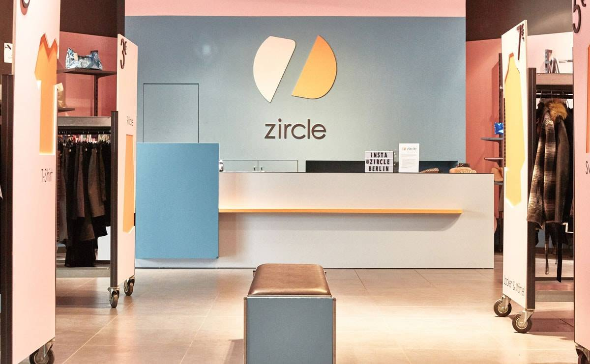 Zircle: Zalando tests resale with second-hand clothing pop-up