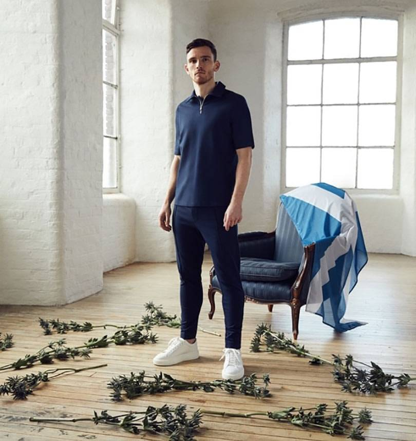 Andy Robertson becomes official ambassador for new luxury men's fashion brand Royle Eleven