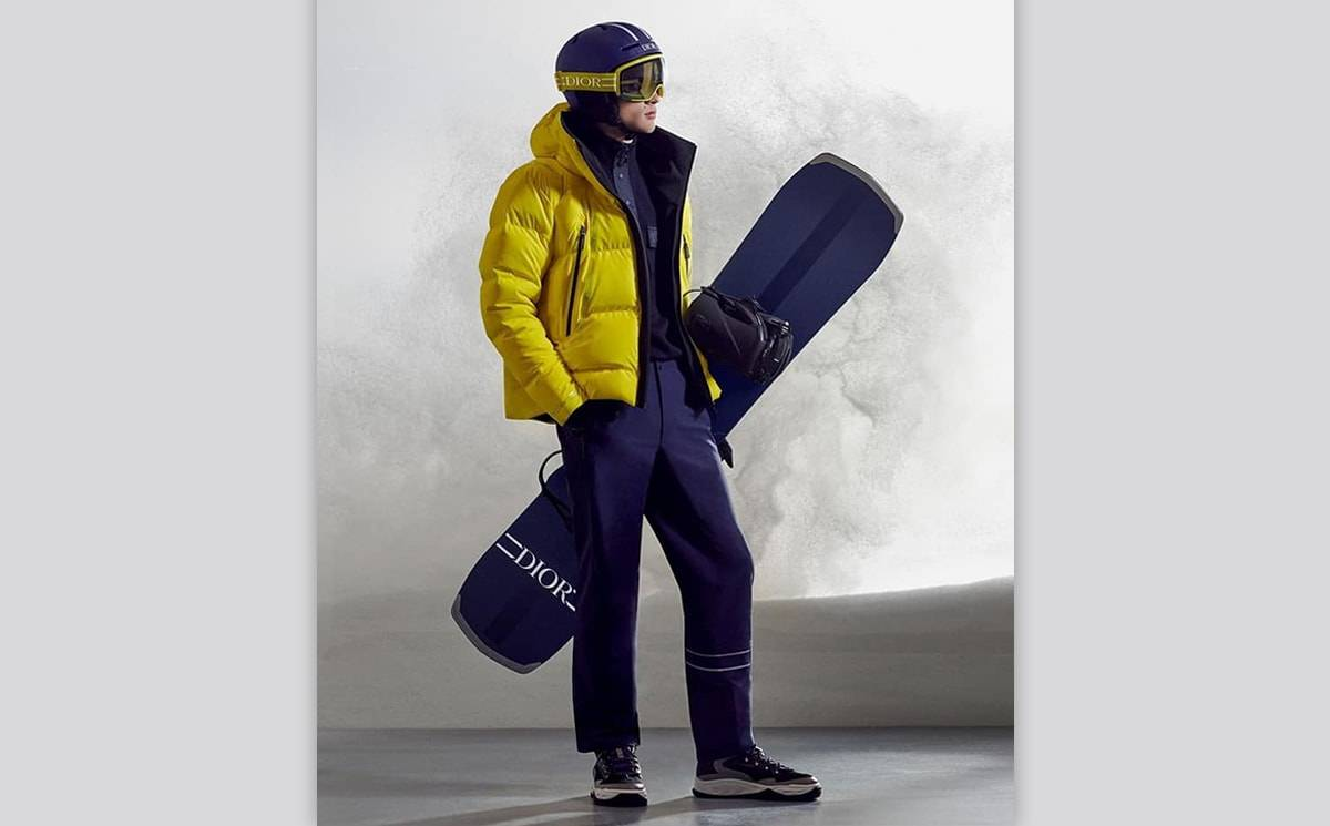 Video: Dior men present its Ski Capsule collection