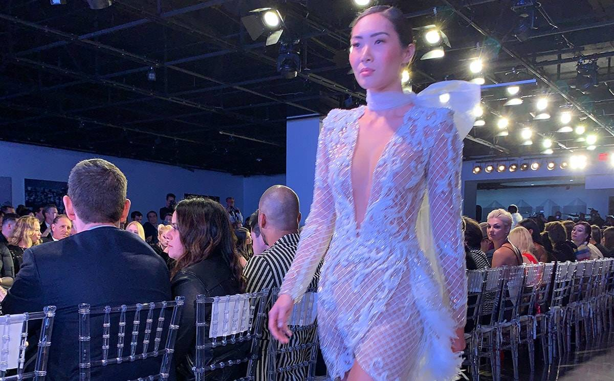 Noe Bernacelli kicks off LA Fashion Week with haute couture