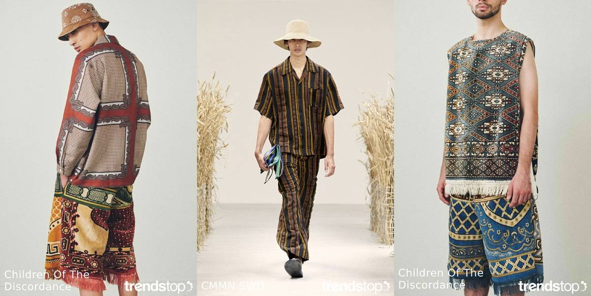 Spring Summer 2021 Menswear Catwalk Trends