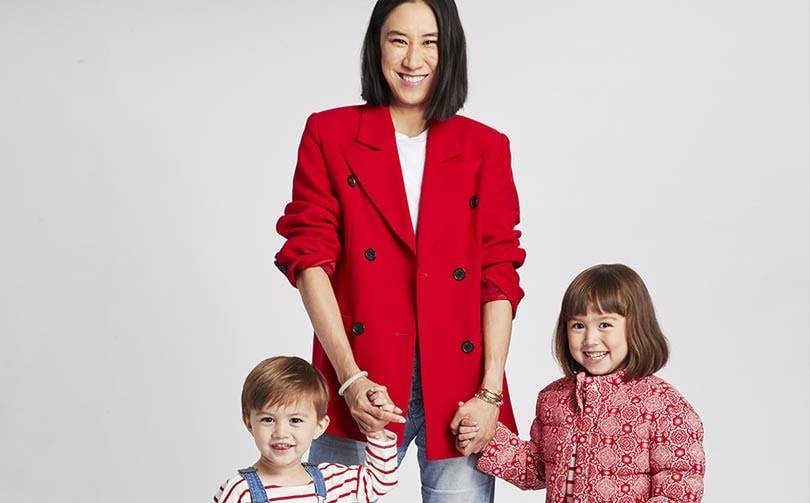Eva Chen collaborates with childrenswear brand Janie and Jack