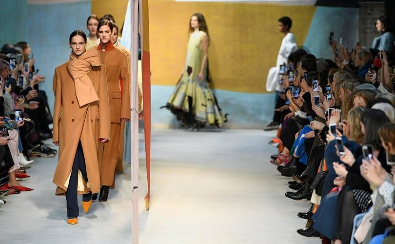 Bailey out, balloons on top: London Fashion Week wraps up