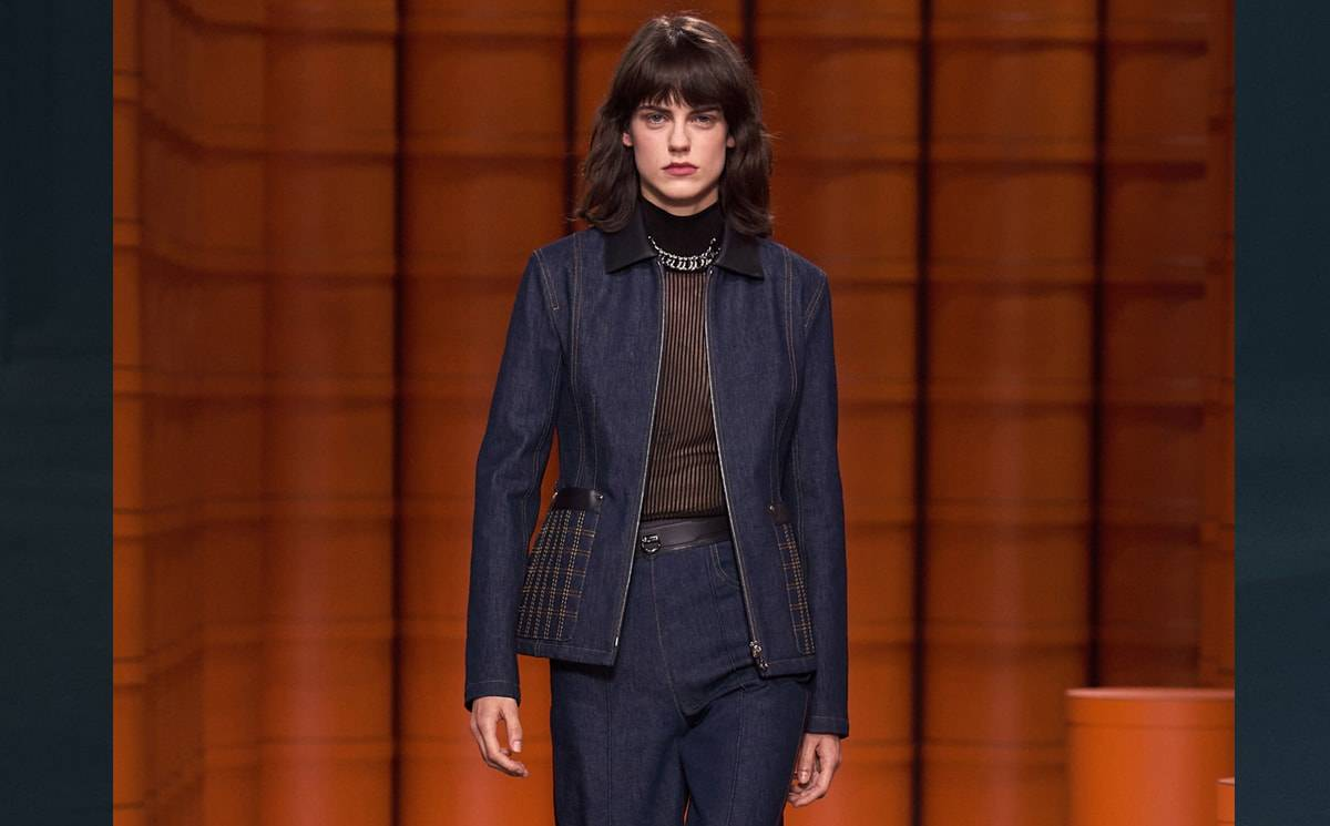 Video: Hermès FW21 collection at PFW