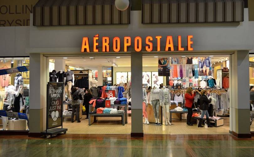 Aeropostale opens first European store in Ireland