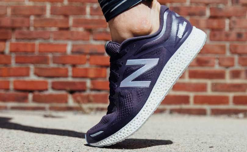 New Balance launches 3D-printed trainer