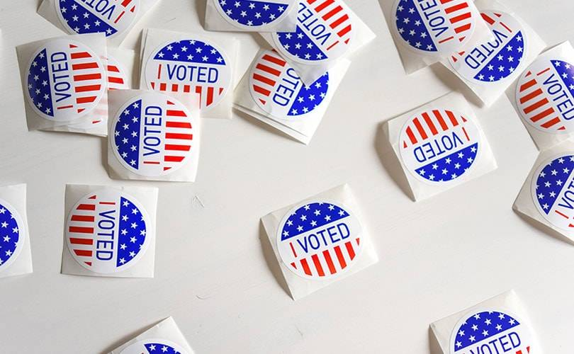Fashion brands encourage Americans to vote on election day