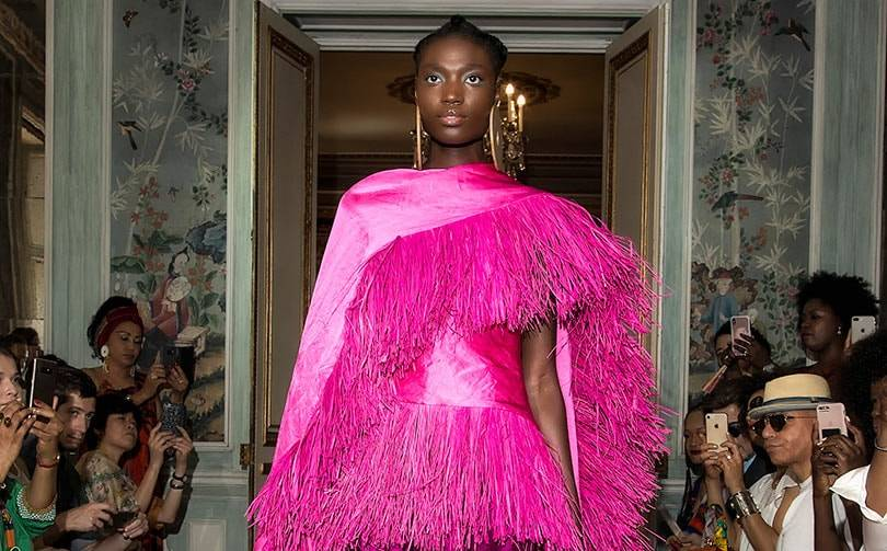 "Imane Ayissi: ""Africa is no longer excluded from international fashion"""