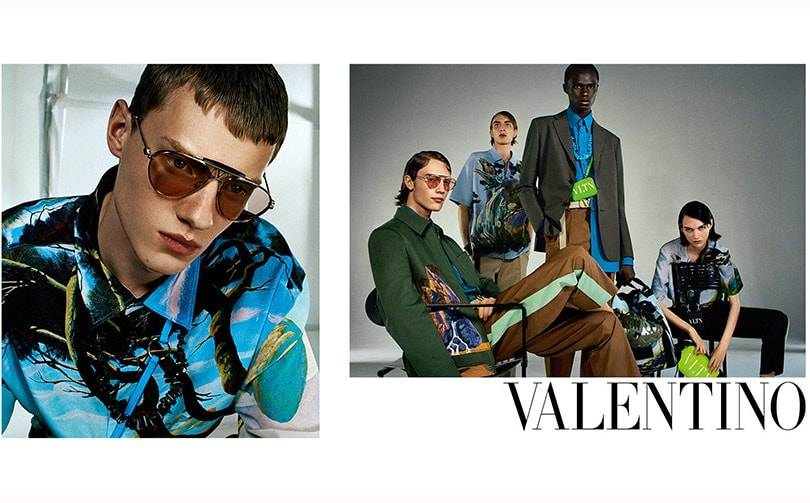 Valentino's latest advertising campaign focusses on the idea of empathy