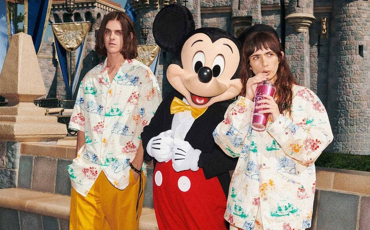Mickey Mouse gets the Gucci treatment