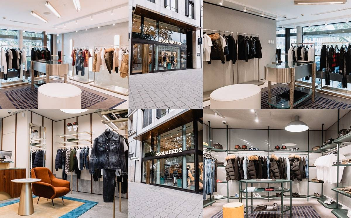 Dsquared2 announces the opening of its first boutique in Düsseldorf