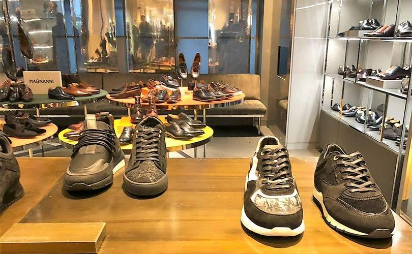 US footwear brand Android Homme opens four Selfridges concessions