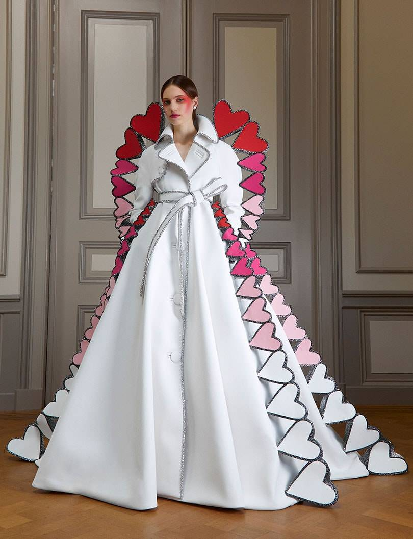 Viktor and Rolf embraces coronavirus for haute couture