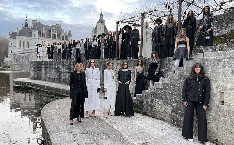 Chanel presents Metiers d'Art collection in Château de Chenonceau