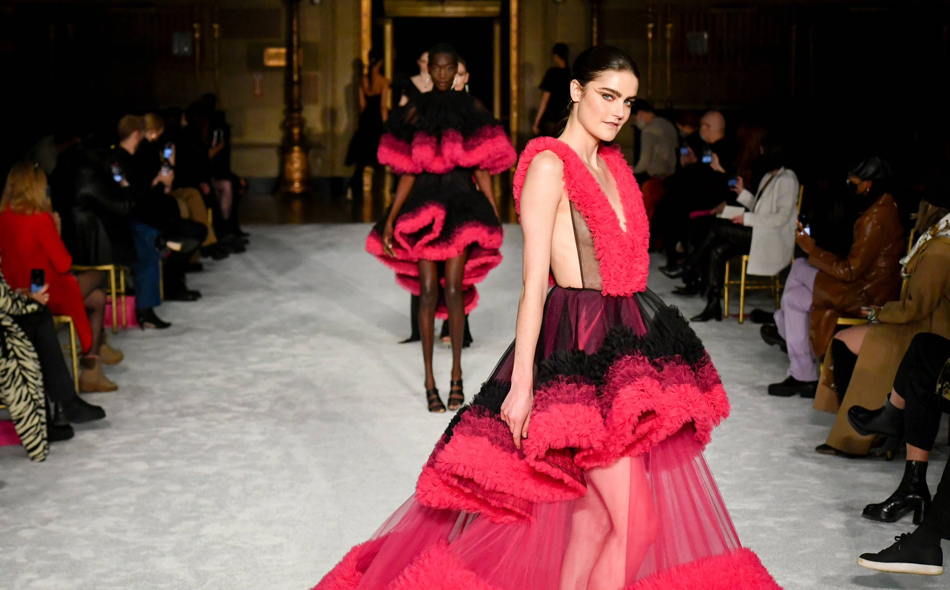 Christian Siriano turns the NYFW runway into a resale platform