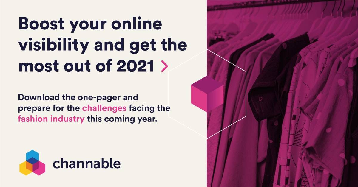 2021: How to get the most out of your online visibility as a fashion retailer (one-pager)