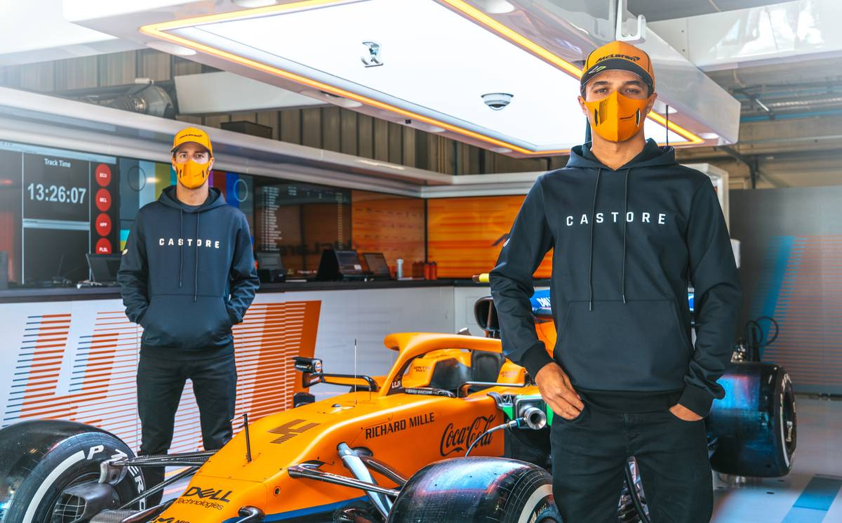 Castore signs multi-year deal with McLaren Racing