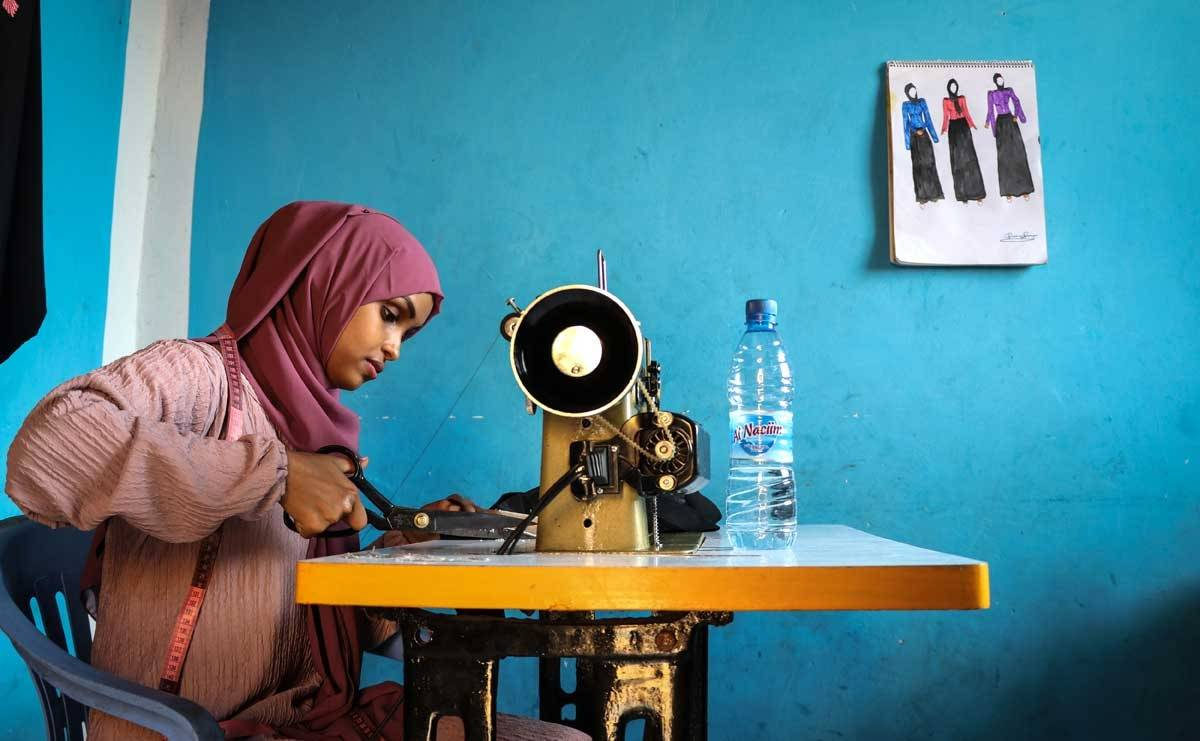 Budding Somalian student: Next fashion designer to watch