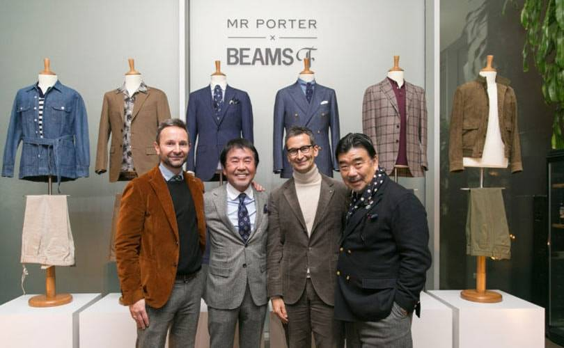 Beams F debuts outside of Japan via Mr Porter