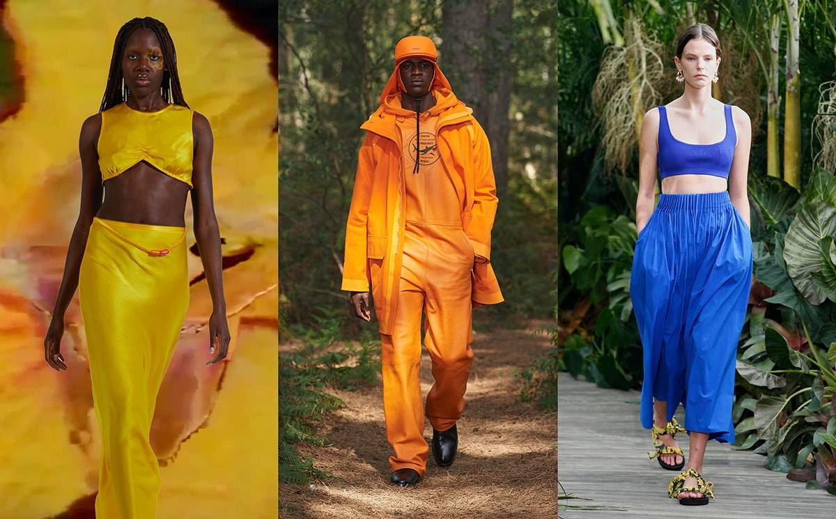 Spotted On The Catwalk Pantone S Spring Summer 2021 Fashion Colours