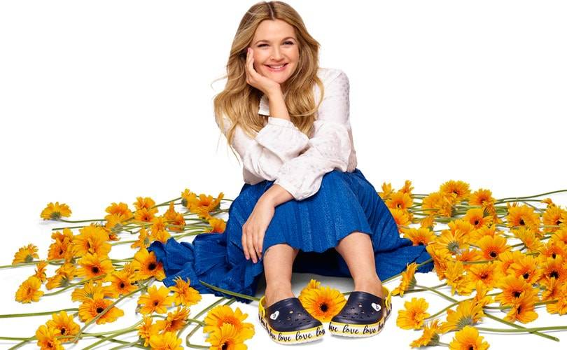 In pictures: Crocs debuts Drew Barrymore collection