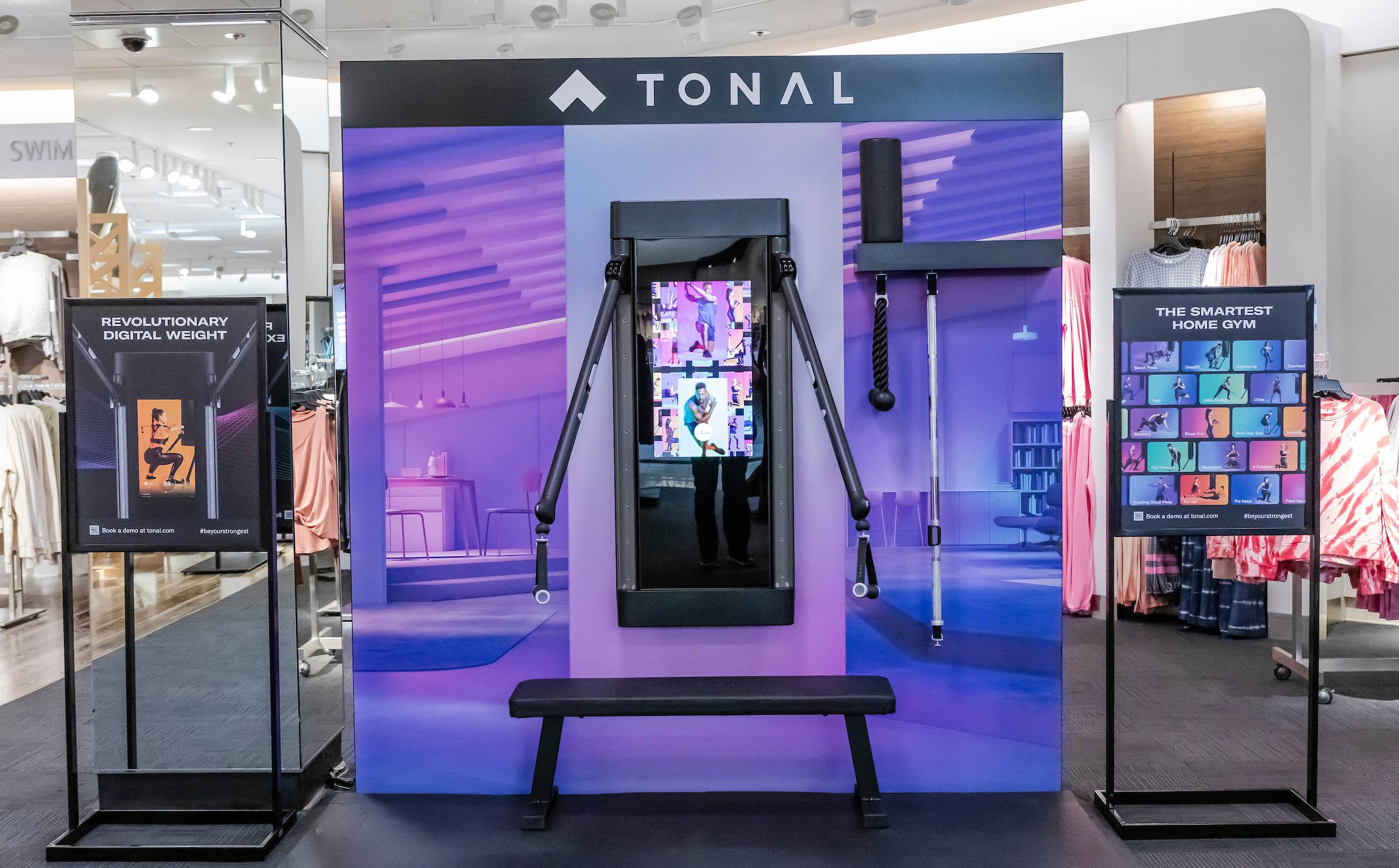 Tonal partners with Nordstrom to expand retail footprint