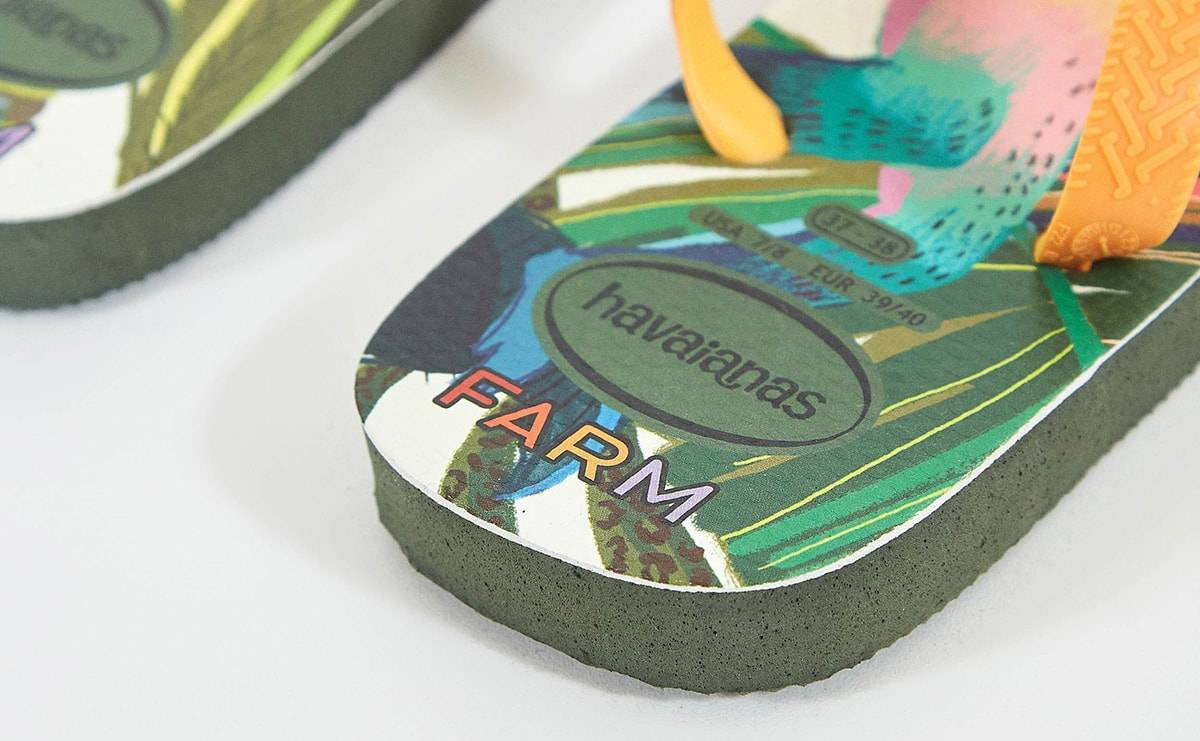 Farm Rio launches collaboration with Havaianas