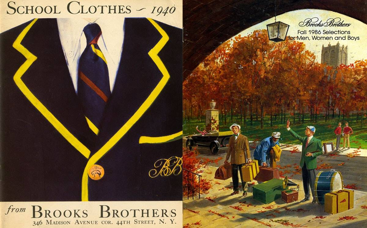 IVY LEAGUE PIONEERS - 202 YEARS OF BROOKS BROTHERS
