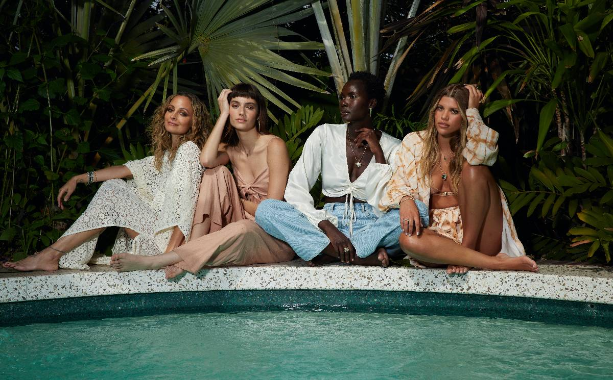 House of Harlow 1960 collaborates with Revolve