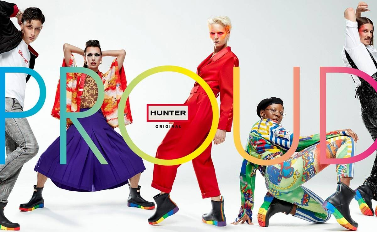 Hunter celebrates Pride with special edition PLAY boot
