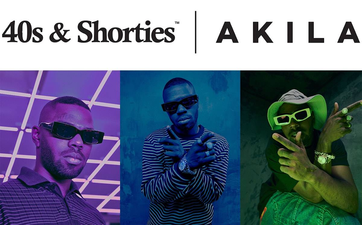 Press Release: Los Angeles brands 40s & Shorties x Akila Debut Capsule Collection